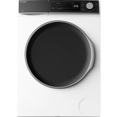 Sharp ES-NFB914AWC-EN 9 kg 1330 Spin Washing Machine - White