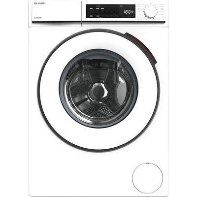 Sharp ES-NFB0142WD-EN 10 kg 1330 Spin Washing Machine - White