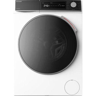 Sharp ES-NDH0144WC-EN 10Kg / 6Kg Washer Dryer - White