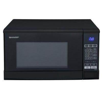 Sharp R270WM 800W Standard Touch Microwave - Black