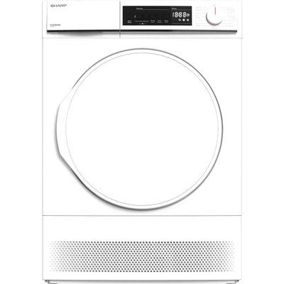 Sharp KD-NCB8S7PW9 8 kg Condenser Tumble Dryer - White