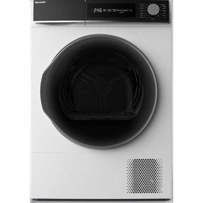 Sharp KD-NHH9S7GW2-EN Heat Pump Tumble Dryer - White