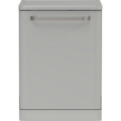 Sharp QW-DX41F47ES Full-size Dishwasher - Silver