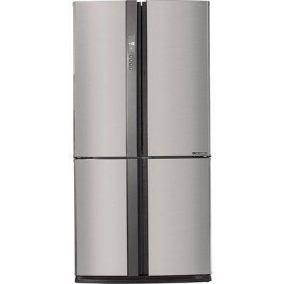 Sharp SJ-EX820F2-SL American Fridge Freezer - Silver
