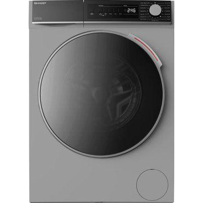 Sharp ES-NDB8144SD-EN 8Kg / 6Kg Washer Dryer - Silver
