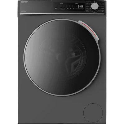 Sharp ES-NDB8144AD-EN 8Kg / 6Kg Washer Dryer - Graphite