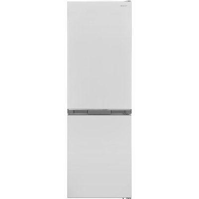 Sharp SJ-BA10DMXWF-EN Frost Free Fridge Freezer - White