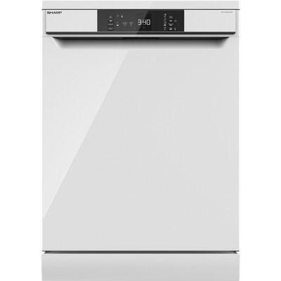 Sharp QW-NA1BF47EW-EN Standard Dishwasher - White