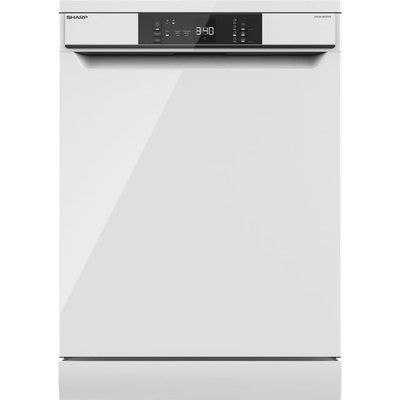Sharp QW-NA1CF47EW-EN Standard Dishwasher - White