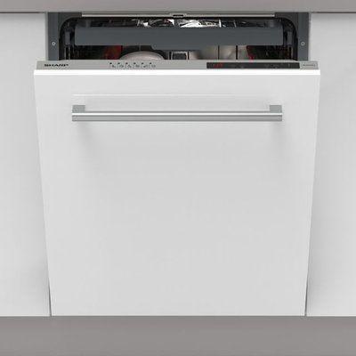 Sharp QW-NI1EI45EX-EN Fully Integrated Standard Dishwasher
