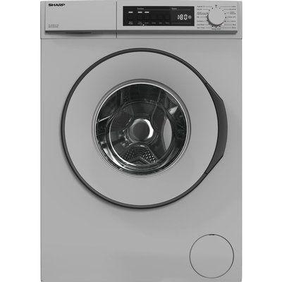 Sharp ES-NFB8141SD 8 kg 1330 Spin Washing Machine - Silver