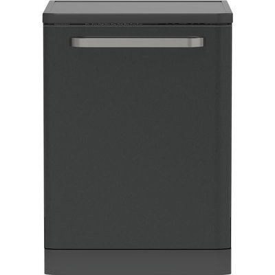 Sharp QW-DX41F47EA-EN Full Size Dishwasher - Dark Stainless Steel