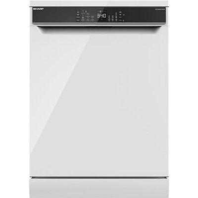 Sharp QW-NA26F39DW-EN Standard Dishwasher - White