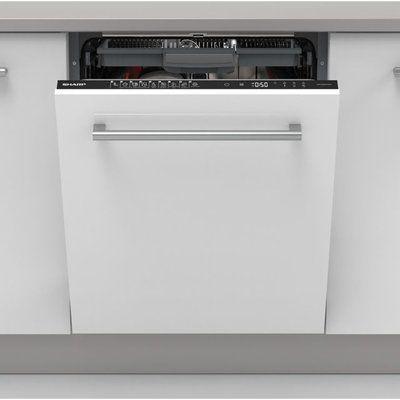 Sharp QW-NI54I44DX-EN Fully Integrated Standard Dishwasher