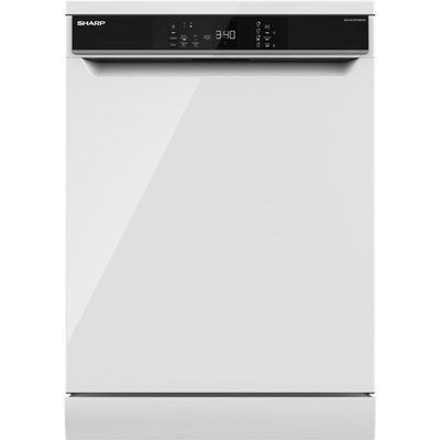 Sharp QW-NA1DF45EWO-EN Standard Dishwasher - White