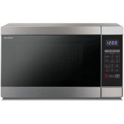 Sharp R956SLM 1000W Combi Microwave Oven - Stainless Steel