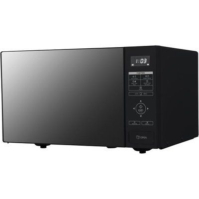 Sharp RBS232TB 23 Litre Microwave - Black Glass