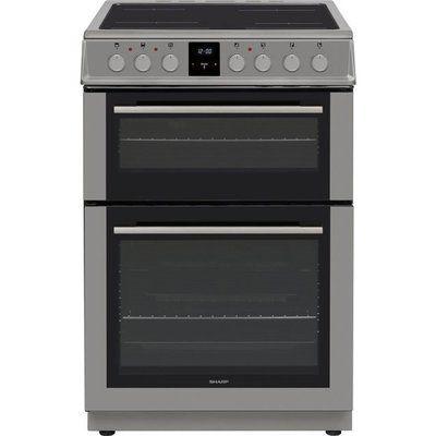 Sharp KF-66DVDD05SL1 Electric Cooker with Ceramic hob Hob - Silver