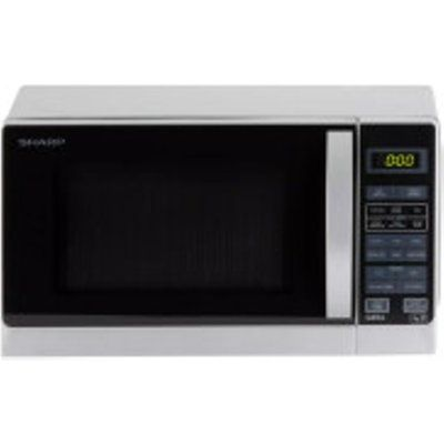 Sharp R662SLM 800W Microwave with 1000W Top Grill