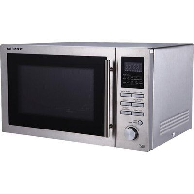Sharp R82STMA Microwave with Gril - Stainless Steel