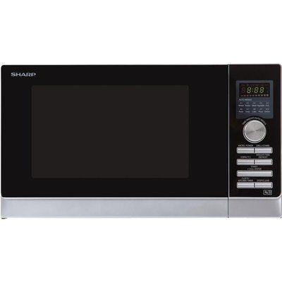 Sharp R843SLM Combination Microwave - Silver
