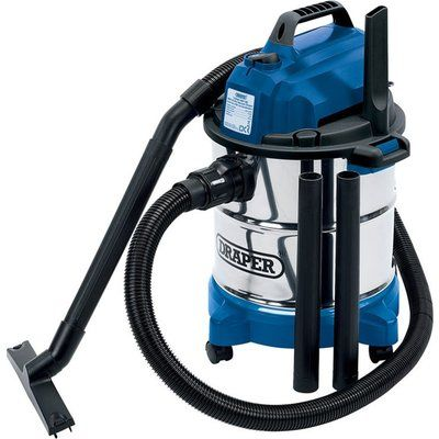 Draper WDV20ASS Wet and Dry Vacuum Cleaner / Blower 240v