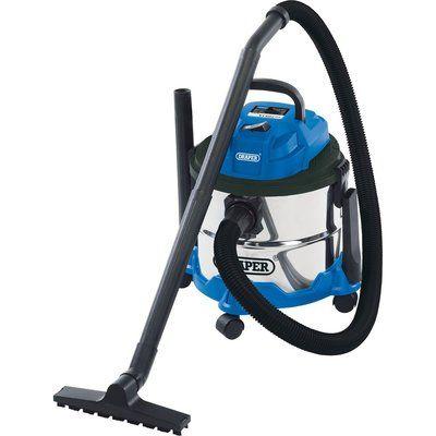 Draper 15L Wet and Dry Vacuum Cleaner 1250 Watts 240v