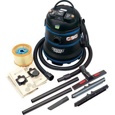 Draper Expert WDV35LMC M Class Wet and Dry Vacuum Cleaner 240v