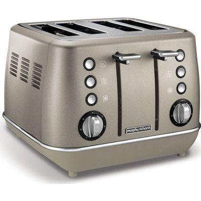 Morphy Richards Evoke 4-Slice Toaster - Platinum