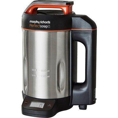 Morphy Richards Perfect Soup 501025 Soup Maker - Black & Silver