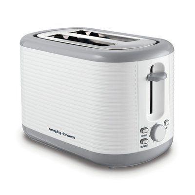 Morphy Richards 228399 Arc 2 Slice Toaster - White