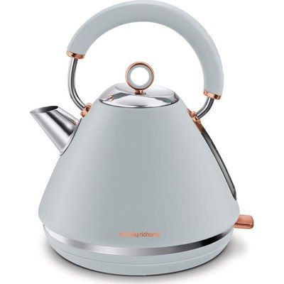 Morphy Richards Rose Gold Collection 102040 Traditional Kettle - Grey & Rose Gold
