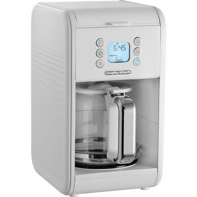 Morphy Richards 163007 Verve Pour Over Filter Coffee Machine - White