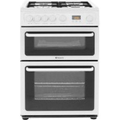 Hotpoint HAG60P 600mm Gas Twin Cavity Oven