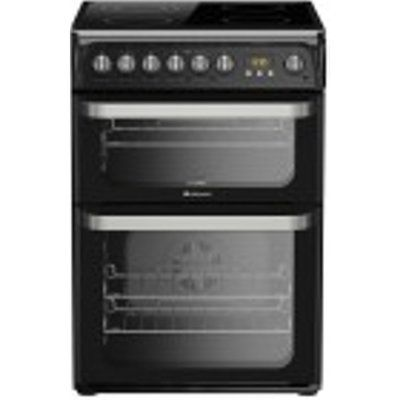 Hotpoint Ultima HUE61KS Electric Cooker with Ceramic Hob