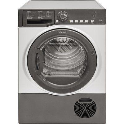 Hotpoint Aquarius TCFS73BGG 7Kg Condenser Tumble Dryer - Graphite