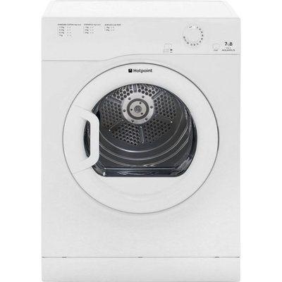 Hotpoint Aquarius TVFM70BGP 7Kg Vented Tumble Dryer - White