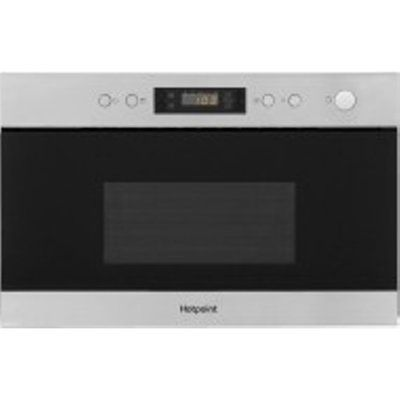 Hotpoint MN314IXH 22L 750W Built-In Microwave with Grill