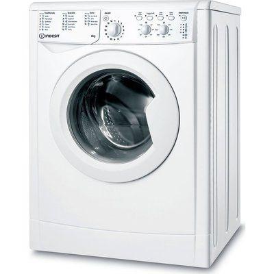Indesit IWC 81483 W UK N 8 kg 1400 Spin Washing Machine - White