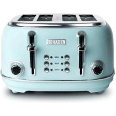 Haden 194244 Heritage 4 Slice Toaster - Blue