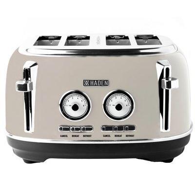 Haden 198747 Jersey 4 Slice Toaster - Putty
