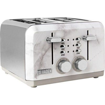 Haden Cotswold 198808 4-Slice Toaster - Marble