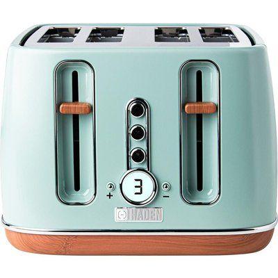 Haden Dorchester 201287 4-Slice Toaster - Sage Green