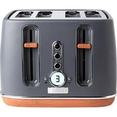 Haden Dorchester 201317 4-Slice Toaster - Pebble Grey