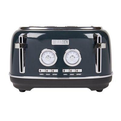 Haden 203610 Jersey 4 Slice Toaster - Blue