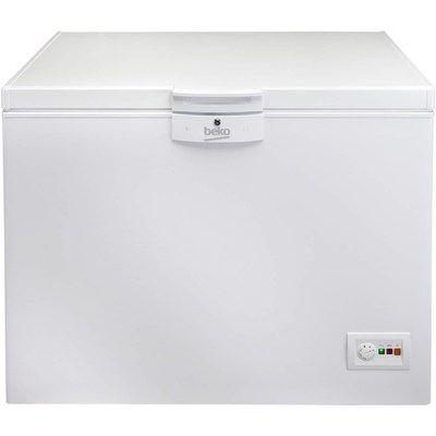 Beko CF1100APW 298 Litre Chest Freezer 75cm Deep A+ Energy Rating 115cm Wide - White