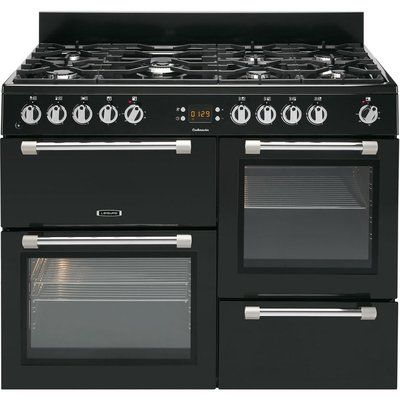 Leisure Cookmaster CK110F232K Dual Fuel Range Cooker - Black