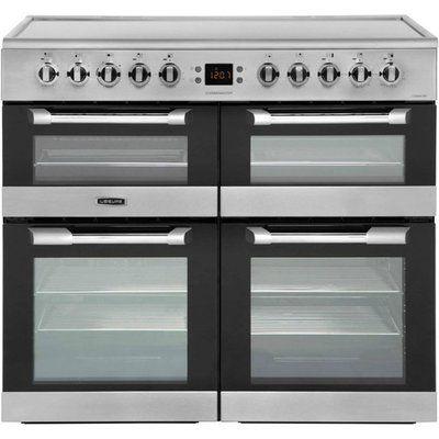 Leisure Cuisinemaster CS100C510X 100cm Electric Range Cooker with Ceramic Hob - Stainless Steel