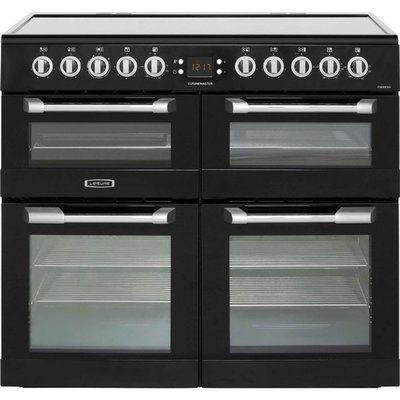 Leisure Cuisinemaster CS100C510K 100cm Electric Range Cooker with Ceramic Hob - Black