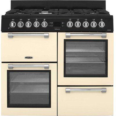 Leisure Cookmaster 100 CK100F232C 100cm Dual Fuel Range Cooker - Cream